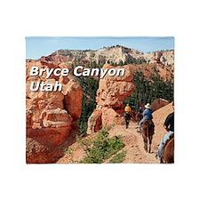 Bryce Canyon, Utah, USA 2 (caption 2 Throw Blanket