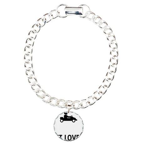 Go-Karting-ABO1 Charm Bracelet, One Charm
