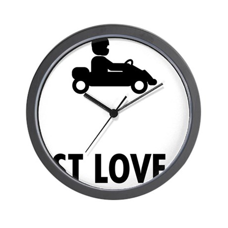 Go-Karting-ABO1 Wall Clock
