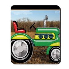 Teriffic Tractor in the Field Mousepad