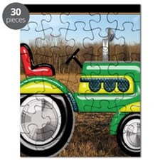 Teriffic Tractor in the Field Puzzle