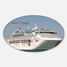 Bon Voyage: cruise ship Decal