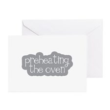 Preheating the Oven Greeting Cards (Pk of 10)