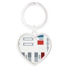 mr. v Heart Keychain