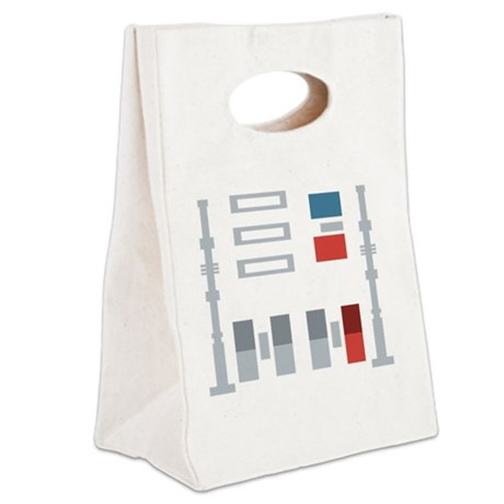 mr. v Canvas Lunch Tote