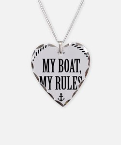 My Boat, My Rules Necklace