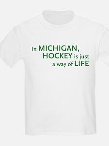 Michigan Hockey State T-Shirt
