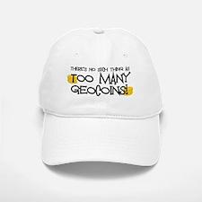 Too Many Geocoins Baseball Baseball Cap