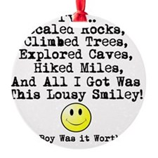 Lousy Smiley Ornament