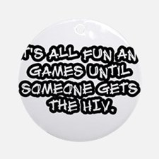 The HIV Ornament (Round)