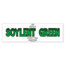 Soylent Green Bumper Bumper Sticker