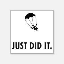 "Parachuting-ABP1 Square Sticker 3"" x 3"""