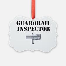Guardrail Inspector Ornament