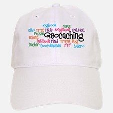 Geocaching Collage Baseball Baseball Cap