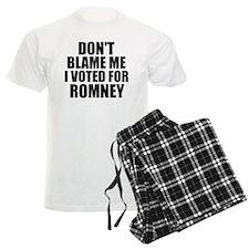 I voted Romney Pajamas