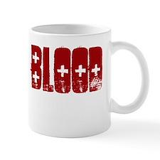 Give Blood, Go Geocaching Mug