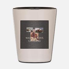 washcrossingsq Shot Glass