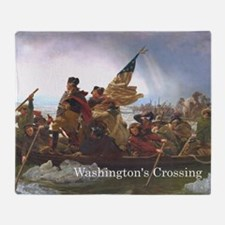 washcrossing1a Throw Blanket
