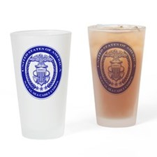 NAVAL SEA CADET CORPS SEAL Drinking Glass