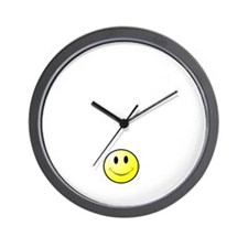 Lousy Smiley Wall Clock