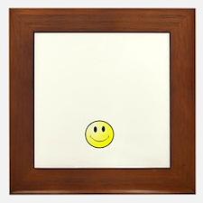 Lousy Smiley Framed Tile