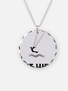 Kiteboarding-ABQ1 Necklace Circle Charm