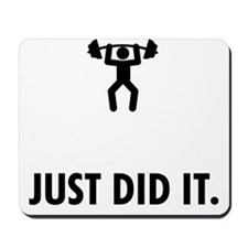 Weightlifting-ABP1 Mousepad