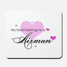 My Heart belongs to a Airman Mousepad