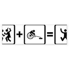 Wheelchair-Curling-AAN1 Bumper Sticker