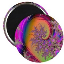 Colorful swirl mousepad Magnet