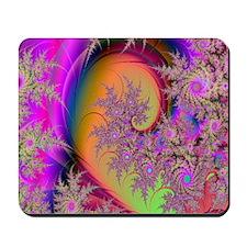 colorful swirl  Mousepad