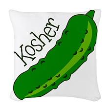 Kosher Woven Throw Pillow