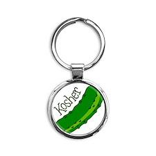 Kosher Round Keychain