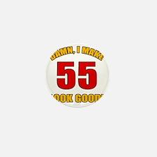 55 Looks Good! Mini Button