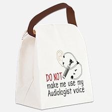 Audiologist Voice Canvas Lunch Bag