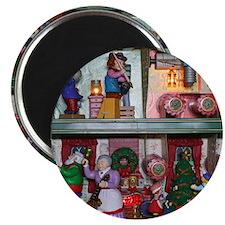 Santas Workshop with Mandolin Magnet