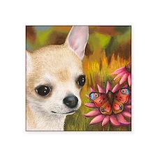 "dog 85 Square Sticker 3"" x 3"""