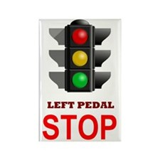 Traffic Light Stop Rectangle Magnet