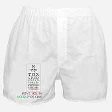 Eyes Checked Boxer Shorts