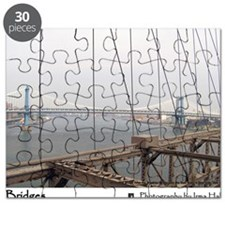 Manhattan Bridge from the Brooklyn Bridge,  Puzzle