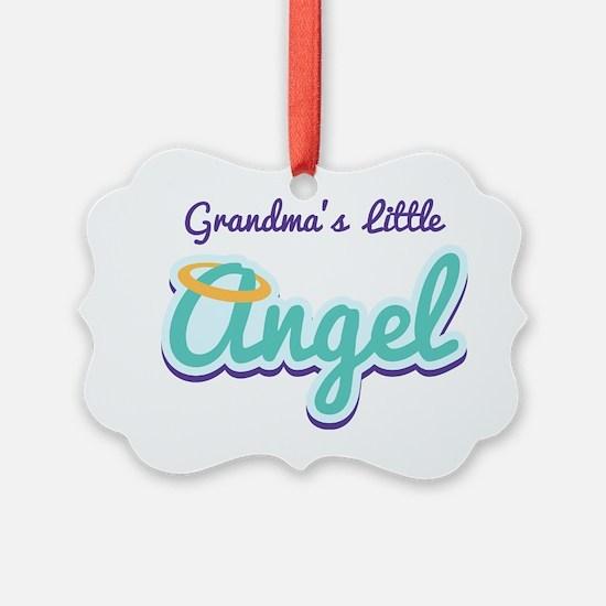 Grandmas Little Angel Ornament