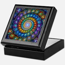 Fractal Spiral Beads Shirt Keepsake Box