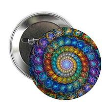 """Fractal Spiral Beads Shirt 2.25"""" Button"""