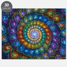 Fractal Spiral Beads Shirt Puzzle