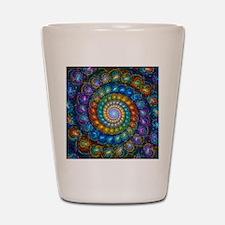 Fractal Spiral Beads Shirt Shot Glass