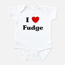 I love Fudge Infant Bodysuit