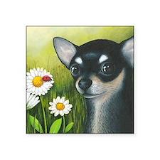 "dog 79 Square Sticker 3"" x 3"""