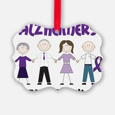 Dont Forget Alzheimers Ornament