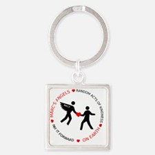 Official Logo Square Keychain