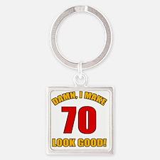 70 Looks Good! Square Keychain